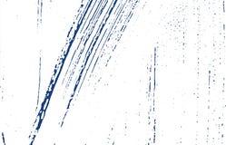 Textura de Grunge Traço áspero do índigo da aflição Fundo dramático Textura suja do grunge do ruído Uncomm ilustração do vetor