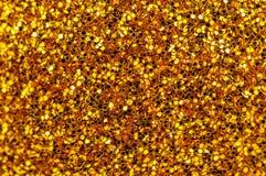 Textura de incandescência do ouro Fotos de Stock