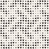 Textura de intervalo mínimo à moda Fundo abstrato infinito com formas aleatórias do tamanho Teste padrão de mosaico sem emenda do ilustração stock