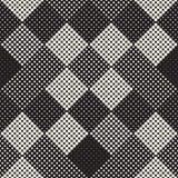 Textura de intervalo mínimo à moda moderna Fundo abstrato infinito com círculos aleatórios Teste padrão de mosaico sem emenda do  Foto de Stock