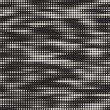 Textura de intervalo mínimo à moda moderna Fundo abstrato infinito com círculos aleatórios Teste padrão de mosaico sem emenda do  Fotos de Stock