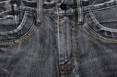 Textura de Jean Imagens de Stock