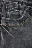Textura de Jean Foto de Stock