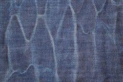 Textura de Jean Foto de archivo libre de regalías