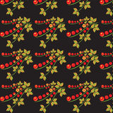 Textura de Khokhloma Imagem de Stock