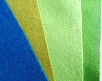 Textura de lã verde bege azul da feltragem Fotografia de Stock Royalty Free