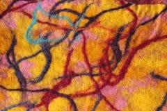 Textura de lãs Imagens de Stock Royalty Free