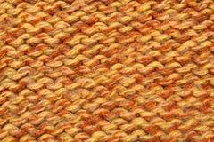 A textura de lãs Fotografia de Stock Royalty Free