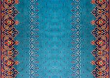 textura de la alfombra con las flores Foto de archivo
