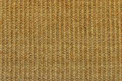 Textura de la alfombra de la paja Fotografía de archivo