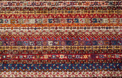 Textura de la alfombra de Turkisch Foto de archivo