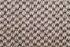 Textura de la alfombra del abacá Imagenes de archivo