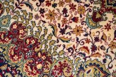 Textura de la alfombra persa Fotos de archivo