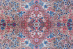 Textura de la alfombra persa Imagen de archivo libre de regalías