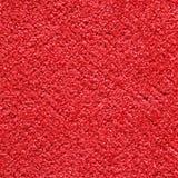 Textura de la alfombra roja Imagen de archivo