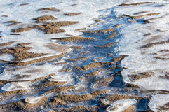 Textura de la arena imagen de archivo libre de regalías