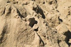 Textura de la arena Foto de archivo libre de regalías