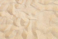 Textura de la arena amarilla Imagen de archivo