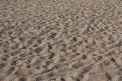 Textura de la arena de la playa Imágenes de archivo libres de regalías