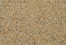 Textura de la arena de la playa Imagen de archivo libre de regalías