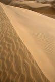 Textura de la arena de las dunas del desierto en Maspalomas Imagen de archivo libre de regalías