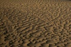 Textura de la arena del desierto Foto de archivo libre de regalías