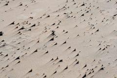Textura de la arena en la playa Foto de archivo libre de regalías