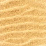 Textura de la arena en la playa Fotos de archivo libres de regalías