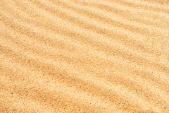 Textura de la arena en la playa Fotos de archivo