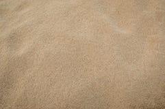 Textura de la arena para el fondo Visión superior Foto de archivo libre de regalías