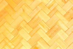 Textura de la armadura de bambú Foto de archivo libre de regalías