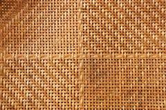 Textura de la armadura de bambú Foto de archivo