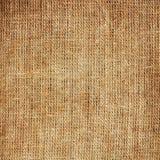 Textura de la arpillera Fotos de archivo