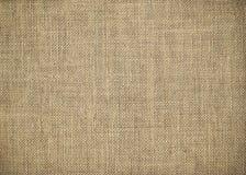 Textura de la arpillera Imágenes de archivo libres de regalías