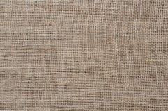 Textura de la arpillera Imagenes de archivo