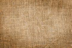 Textura de la arpillera Imagen de archivo
