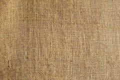 Textura de la arpillera arrugada vieja Imágenes de archivo libres de regalías