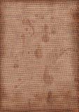 Textura de la arpillera de Grunge Fotos de archivo