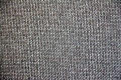 Textura de la arpillera para el fondo Foto de archivo