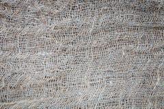 Textura de la arpillera vieja Imágenes de archivo libres de regalías