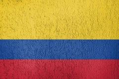 Textura de la bandera Foto de archivo libre de regalías