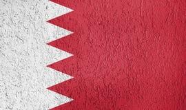 Textura de la bandera de Bahrein Fotos de archivo