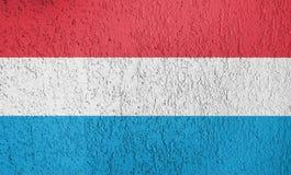 Textura de la bandera de Luxemburgo Imagen de archivo