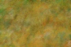 Textura de la bella arte de la acuarela/Grunge de oro del fondo Fotos de archivo libres de regalías