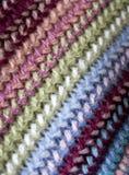 Textura de la bufanda Fotografía de archivo libre de regalías