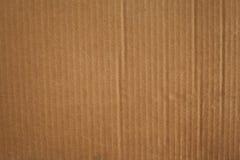 Textura de la caja de cartón de Brown Foto de archivo libre de regalías