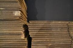 Textura de la caja del cartón Imagen de archivo libre de regalías