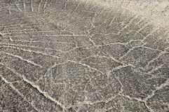 Textura de la carretera de asfalto como fondo imágenes de archivo libres de regalías