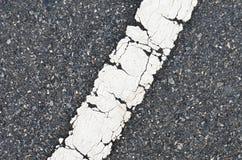 Textura de la carretera de asfalto Foto de archivo libre de regalías