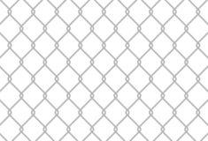 Textura de la cerca de la conexión de cadena stock de ilustración